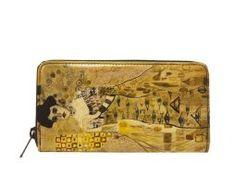 Ručne-maľovaná-peňaženka.-Na-výrobkoch-sú-inšpiráciou-diela-maliarskych-velikánov-ich-pozoruhodné-detaily-a-motívy Zip Around Wallet