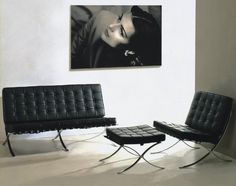 1000 images about barcalona chairs on pinterest for Replica designer sessel
