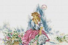 Gallery.ru / Все альбомы пользователя helen61 Cross Stitch Patterns, Disney Characters, Fictional Characters, Aurora Sleeping Beauty, Disney Princess, Painting, Punto De Cruz, Dots, Blue Prints