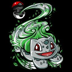 Ball of Leaves T-Shirt $12.99 Pokemon tee at Pop Up Tee!