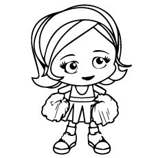 25 Beautiful Free Printable Cheerleading Coloring Pages Online Cute Coloring Pages Cheerleading Crafts Kids Cheering