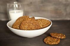 Ovesné sušenky (hrnek = 236 ml = McCafe plny)