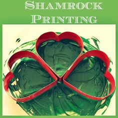 St Patrick's Day Activities : Shamrock Printing