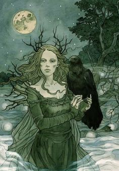 Want to discover art related to raven? Check out inspiring examples of raven artwork on DeviantArt, and get inspired by our community of talented artists. Art And Illustration, Fantasy Kunst, Fantasy Art, Images Esthétiques, Fantasy Magic, Photo D Art, Beltane, Wow Art, Norman Rockwell