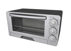 Buy a 3D modern toaster oven model in FBX 3D format that works with most 3D modeling software.