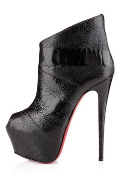 Stiletto Booties Boots - Spike-Heeled Booties -