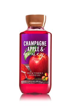 Champagne Apple & Honey Shower Gel - Signature Collection - Bath & Body Works
