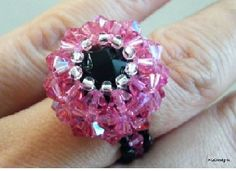 Beaded Wrap Ring - http://www.diybeadingclub.com/amember/aff/go?r=5