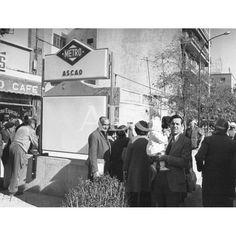 Nueva estación de Ascao en la línea 7. De Madrid al cielo: Álbum de fotografías y documentos históricos. - Urbanity.cc