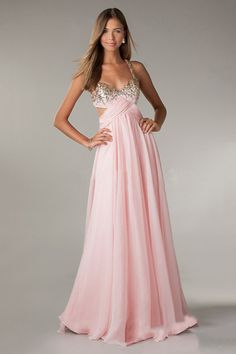 2014 Prom Dresses A-Line Cross Back Chiffon Floor-Length Under 150 Fast Delivery
