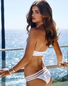 Sheer Addiction - White Bikini - Beach Bunny Swimwear