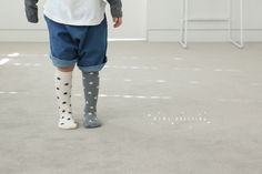Cute star knee highs by Mini Dressing!