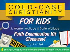 Cold-Case Christianity For Kids (Enter the #Giveaway!)
