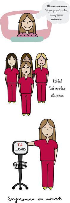 Web llenita de ilustraciones cargadas de humor enfermero para reirse y pasarlo bien.