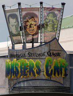 Monster Cafe Universal Studios, Orlando,.