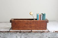 Vintage wooden box rustic by dudads on Etsy, $36.00