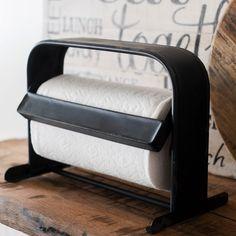 Metal Counter Top Paper Towel Holder