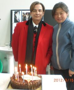 """Another one of my """"29th"""" birthday parties in Beijing on Keanu Reeves """"Man of Tai Chi""""  2012"""