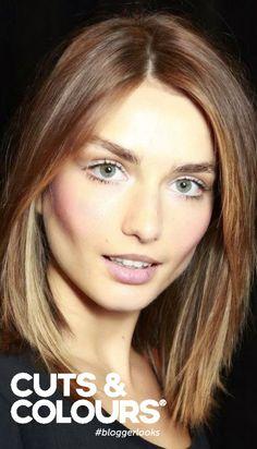 Perfecte haarstijl om het gezicht dunner te laten lijken