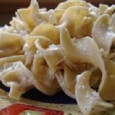 Polish Noodles (Cottage Cheese and Noodles) Recipe Polish Recipes, New Recipes, Cooking Recipes, Favorite Recipes, Polish Food, Polish Nails, Vegetarian Cooking, 3d Nails, Cheese Recipes