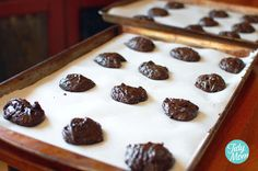 Big, Soft, Almost Fat-Free Chocolate Cookies (Weight Watchers 2 points)
