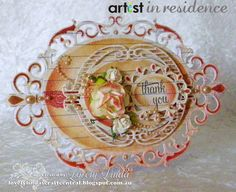 Lovely Linda's Craft Central!!: Artist in Residence - Inking with Elegance Tutorial