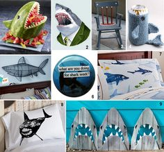 shark party ideas shark themed | Do you like sharks or do you fear them too much to incorporate them in ...