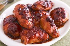 CATALINA-Cranberry Chicken Recipe - Kraft Recipes Use Catalina and try with boneless chicken thighs, no onion soup mix. Serve with brown rice and a veggie! Slow Cooker Recipes, Crockpot Recipes, Cooking Recipes, What's Cooking, Kosher Recipes, Oven Recipes, Party Recipes, Copycat Recipes, Healthy Cooking