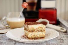 Tiramisu, Romanian Food, Latte, Vanilla Cake, Espresso, Cheesecake, Ethnic Recipes, Desserts, Espresso Coffee