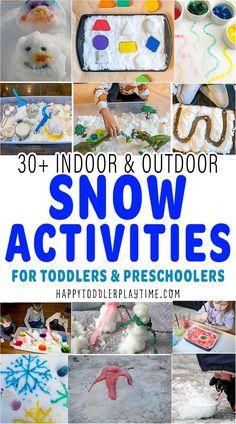 Outdoor Activities For Toddlers, Winter Activities For Kids, Fun Winter Activities, Indoor Activities, Sensory Activities, Infant Activities, Preschool Winter, Sensory Bins, Christmas Activities