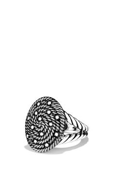 David Yurman 'Cable Coil' Ring with Diamonds available at #Nordstrom