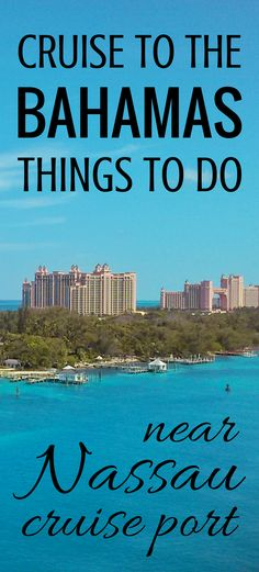Self-guided excursions in Nassau during Bahamas vacation, cruise tips and ideas for things to do near Nassau cruise port! Alternatives to Atlantis and Paradise Island trips to put on checklist that are cheap and free activities, for a walking tour and learning Bahamas history! Nassau itinerary has free food, free beach! ;) You won't travel far from downtown, you can go shopping in at market stands! Think what to wear, what to pack for cruise. Map of Nassau. #cruisetips #cruise #nassau…