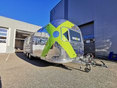 Airstream Mobile Stage Branding 3 Airstream, Stage, Branding, Brand Management, Identity Branding, Travel Trailers
