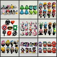 Cheap shoe decoration, Buy Quality shoe charms directly from China charms shoes accessories Suppliers: Mix Models 8pcs/lot Mickey Super hero Avengers South Park  shoe charms shoe accessories shoe decoration for croc jibz kids gift