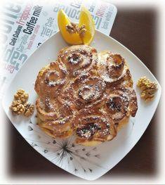 Egy finom Diós rózsakalács tej- és gluténmentesen ebédre vagy vacsorára? Diós rózsakalács tej- és gluténmentesen Receptek a Mindmegette.hu Recept gyűjteményében! Tej, Waffles, French Toast, Breakfast, Dios, Morning Coffee, Waffle