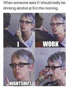 New Memes Funny Girlfriend Laughing Ideas Night Shift Humor, Night Shift Nurse, Humor Mexicano, Medical Humor, Nurse Humor, Work Memes, Work Humor, Girlfriend Humor, Me As A Girlfriend