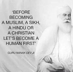 #gurunanak #becomehumanfirst