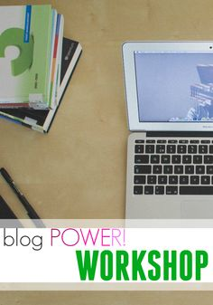 start your blog--workshops for folks here in the dc metro area!