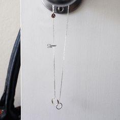 Twins Necklace - Handmade Sterling Silver 925 - Tonkin Jewelry