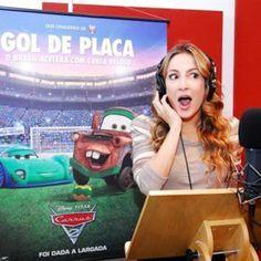 Claudia Leitte dubla personagem brasileiro no filme Carros 2
