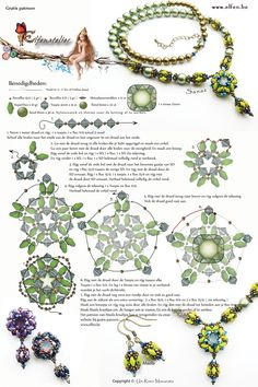 * Free Necklace Beading Pattern from Elfen.Be featured in Bead-Patterns.com Newsletter!