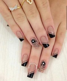 44 Stylish Manicure Ideas for 2019 Manicure: How to Do It Yourself at Home! Part 5 44 Stylish Manicure Ideas for 2019 Manicure: How to Do It Yourself at Home! Part manicure ideas; manicure ideas for short nails; Winter Nail Art, Winter Nails, Summer Nails, Nail Manicure, Toe Nails, Manicure Ideas, Nail Polishes, French Tip Nails, French Nail Art
