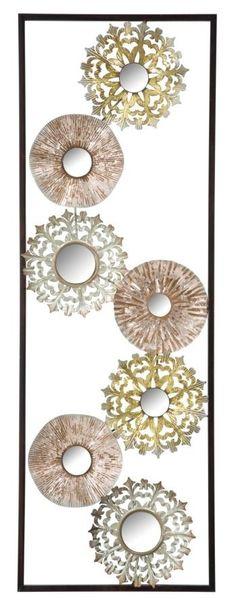 Pannello in ferro Gliss -A- Flower Frame, Copper, House Design, Interior Design, Minden, Metal, Flowers, Gold, Inspiration
