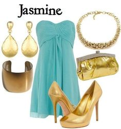 Jasmine inspired outfit
