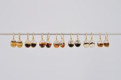 Small Oval Montana Agate Earrings (Tej Kothari) - SOURCE objects