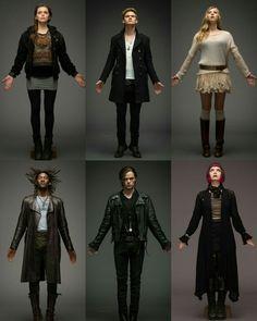 Serie Fallen, Goth, Books, Movies, Style, Fashion, Magic Kingdom, Gothic, Swag