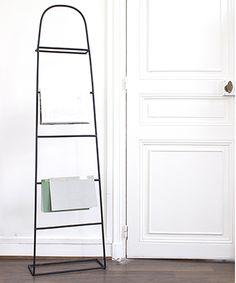 valet de chambre en mtal noir elliot galan de noche pinterest bedrooms - Valet De Salle De Bain