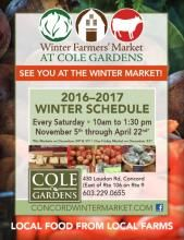 www.concordwintermarket.com | Local Food From Local Farms