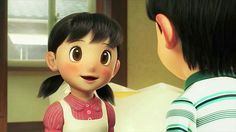 A cute moment from doraemon movie stand by me