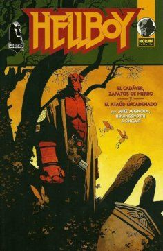 """Ficha de lectura de """"Hellboy: El cadáver"""" de Mike Mignola, realizada por Juan José Sánchez."""